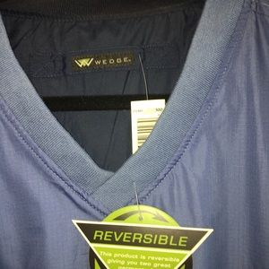 Wedge - men's reversible pullover jacket.